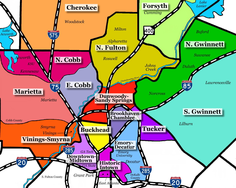 Things to do in Buckhead, Atlanta: Neighborhood Travel ...