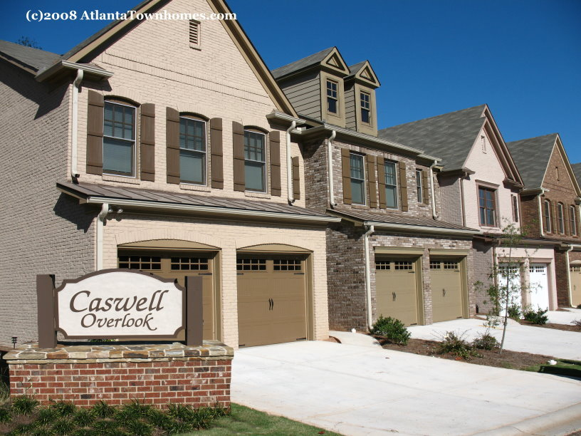 Caswell Overlook Townhomes In Marietta Atlantatownhomes Com